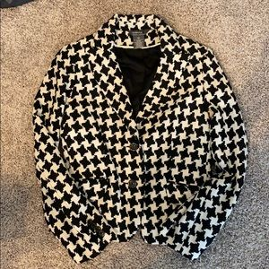George black and white checkered like Jacket